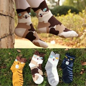 Accessories - 🐈 Adorable Cat Ankle Socks 🐈